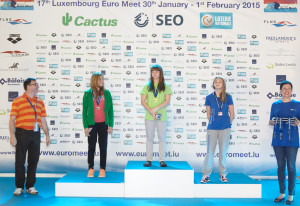 The Euro Meet is open to Junior and Youth categories as well as elite swimmers