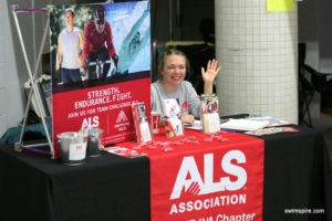 The ALS Association will be represented at the meet.