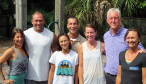 Owners Kevin and Marcy Vandyke (far right) in 2014 upon first starting Anastasia Fitness