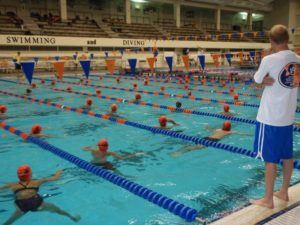 Auburn Swimming with Richard Quick and Rowdy Gaines