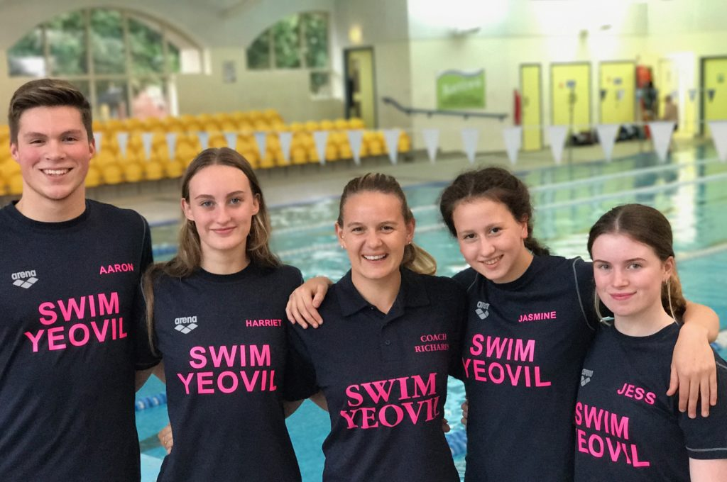 Rebecca Richards is head coach at Yeovil District Swimming Club