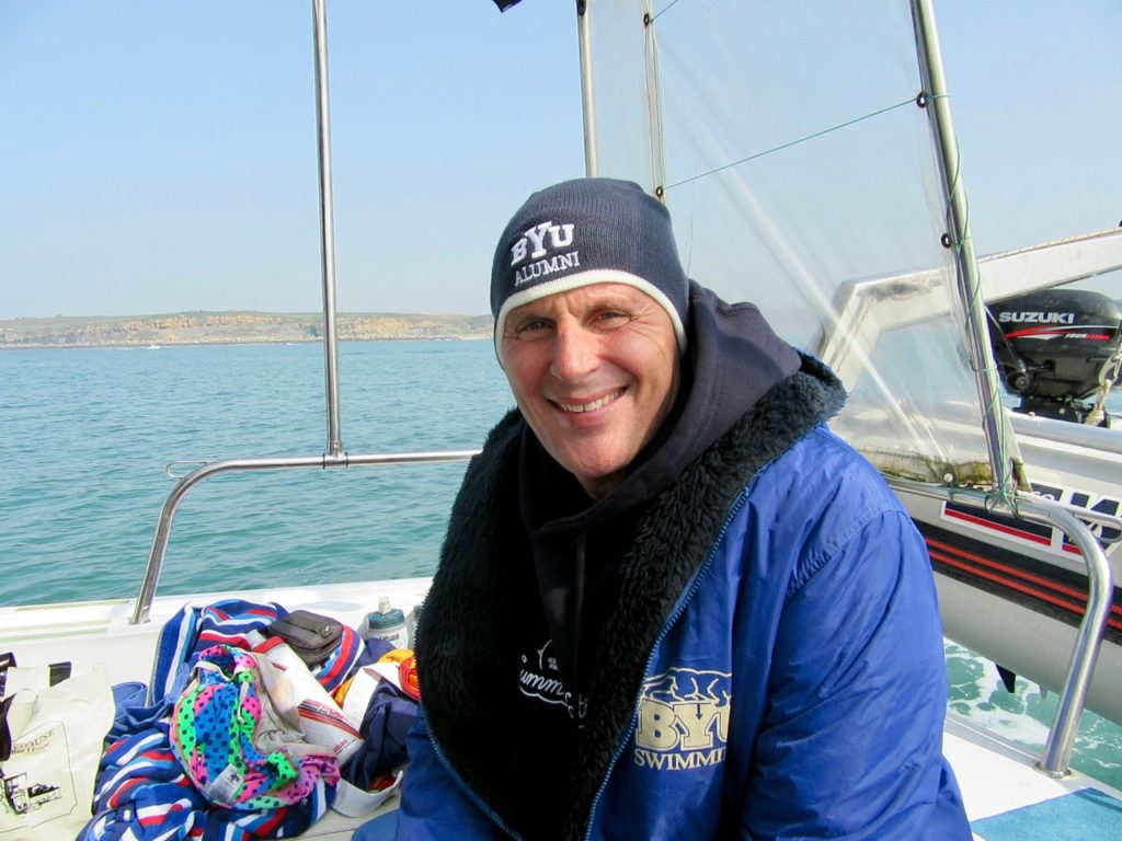 Kurt Dickson, English Channel swimmer