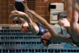With Streamline Swimming, Courtney hopes to help swimmers and their families with the college scholarship process